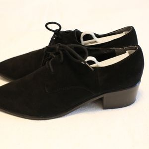 Marc Fisher Shoes - Marc Fisher black suede oxfords sz 7.5